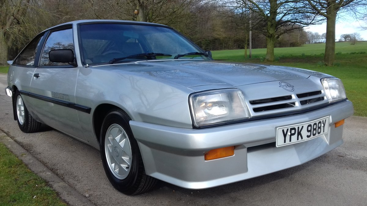 1983 OPEL MANTA BERLINETTA ~ RARE SIGHT! ~ LOVELY CONDITION!!!    SOLD (picture 6 of 6)