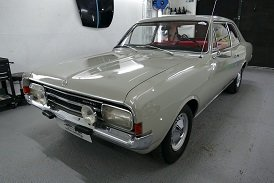 1967 Beautiful Opel Rekord C Saloon 1700 For Sale