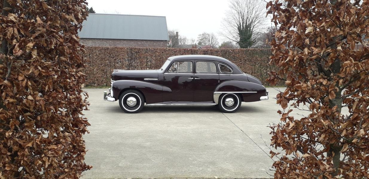 Opel Kapitän 3rd series 1952 DARK RED    Unbelievably beauti For Sale (picture 3 of 6)