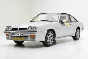 OPEL MANTA 400, 1983 For Sale by Auction