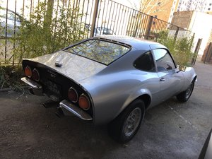 1972 Classic Opel GT 1900 Manual Silver For Sale