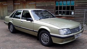 Opel Senator 2.5 1984 1 Owner 62k Miles Concours History Inj