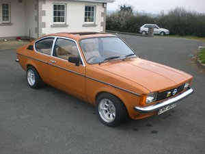Opel Kadett Coupe 2.0 16 V Red Top 1979 Project For Sale