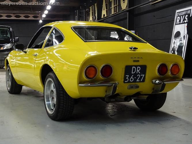 1969 OPEL GT For Sale (picture 3 of 6)