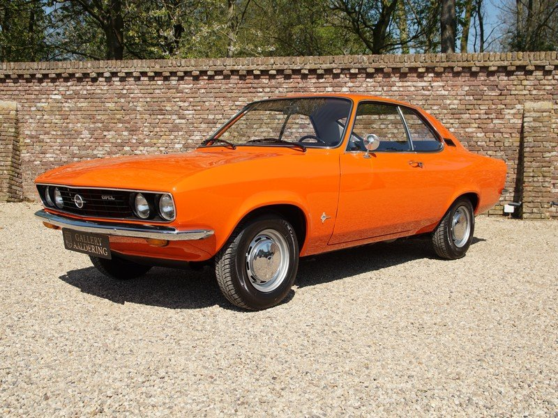 1973 Opel Manta A 1600S factory new condition, only 66.574 km, on For Sale (picture 1 of 6)