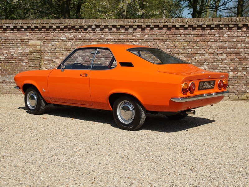 1973 Opel Manta A 1600S factory new condition, only 66.574 km, on For Sale (picture 2 of 6)