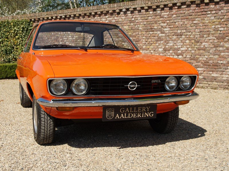 1973 Opel Manta A 1600S factory new condition, only 66.574 km, on For Sale (picture 5 of 6)