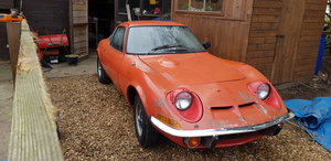 1973 opel  gt  for restoration  For Sale