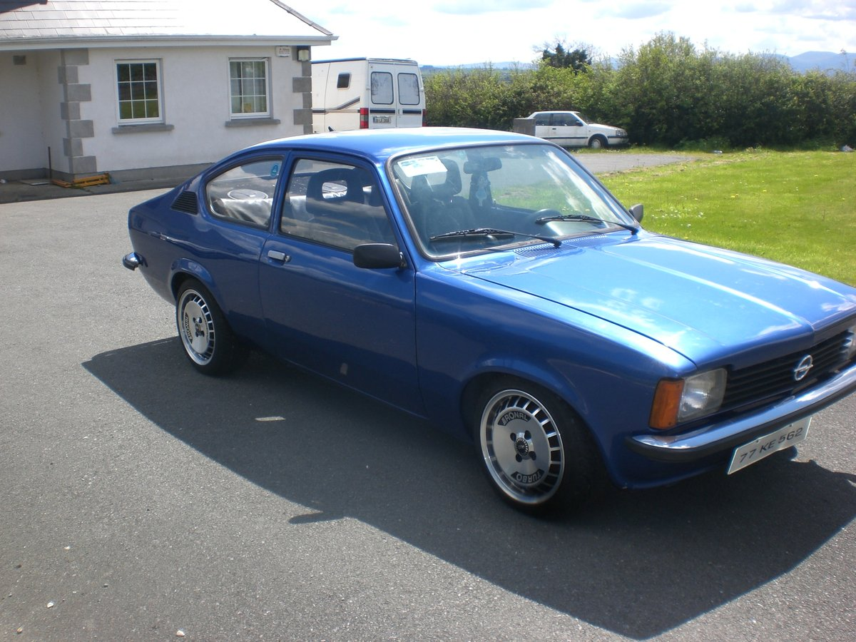 Opel Kadett Coupe 2.0 16 V Redtop LHD 1977 For Sale (picture 1 of 6)