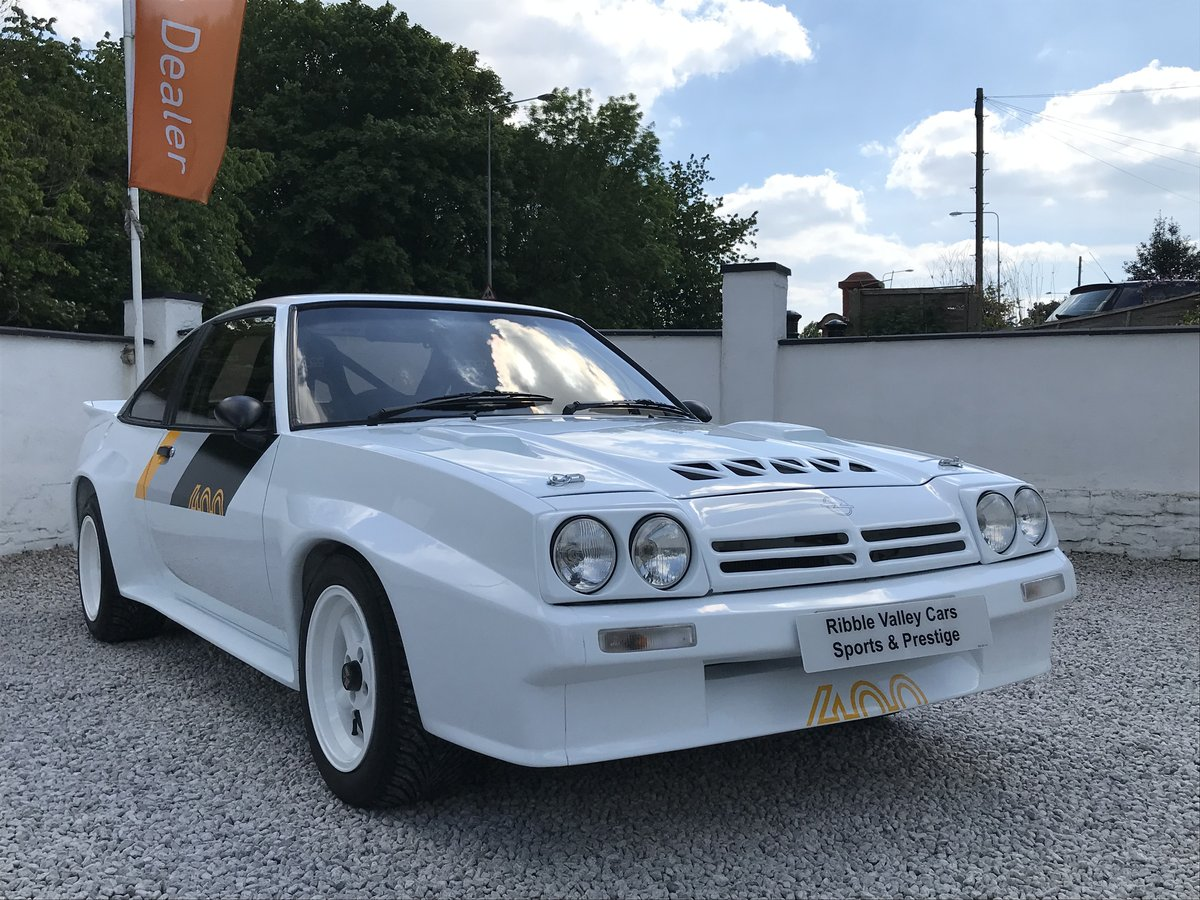 1987 OPEL MANTA 400 TRIBUTE IMMACULATE For Sale (picture 1 of 6)