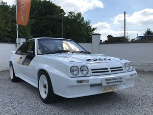 1987 OPEL MANTA 400 TRIBUTE IMMACULATE For Sale