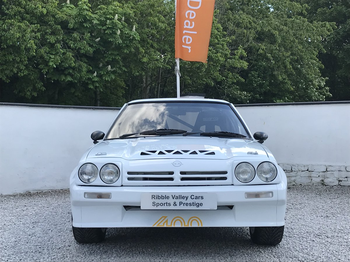 1987 OPEL MANTA 400 TRIBUTE IMMACULATE For Sale (picture 2 of 6)
