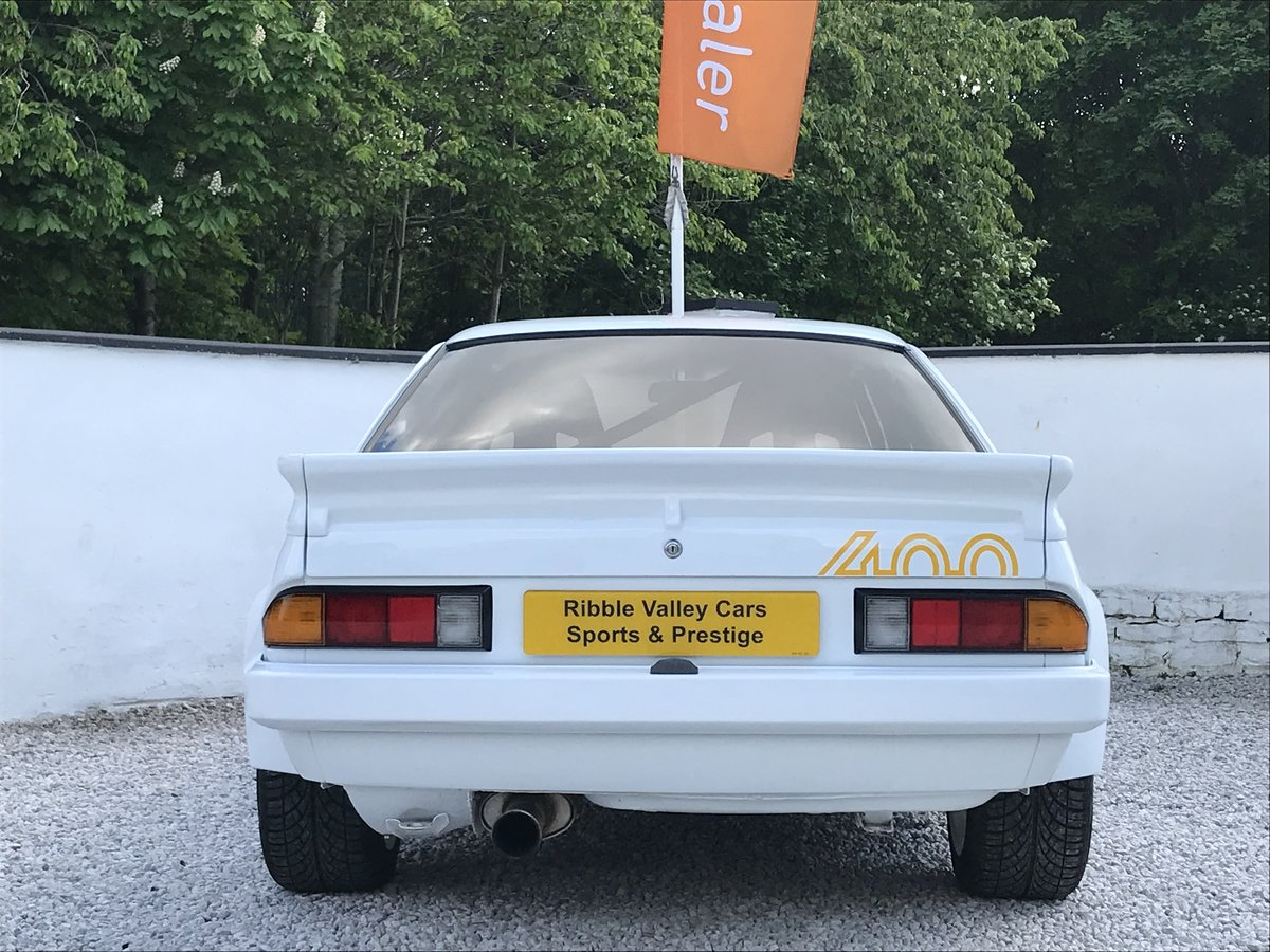 1987 OPEL MANTA 400 TRIBUTE IMMACULATE For Sale (picture 3 of 6)