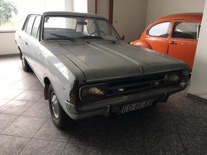 1969 Opel Rekord 4 door sedan benzin