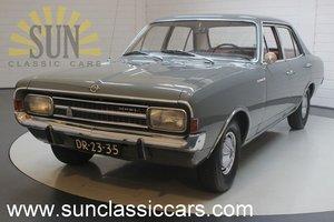 Opel Rekord 1900 1967, in original condition.