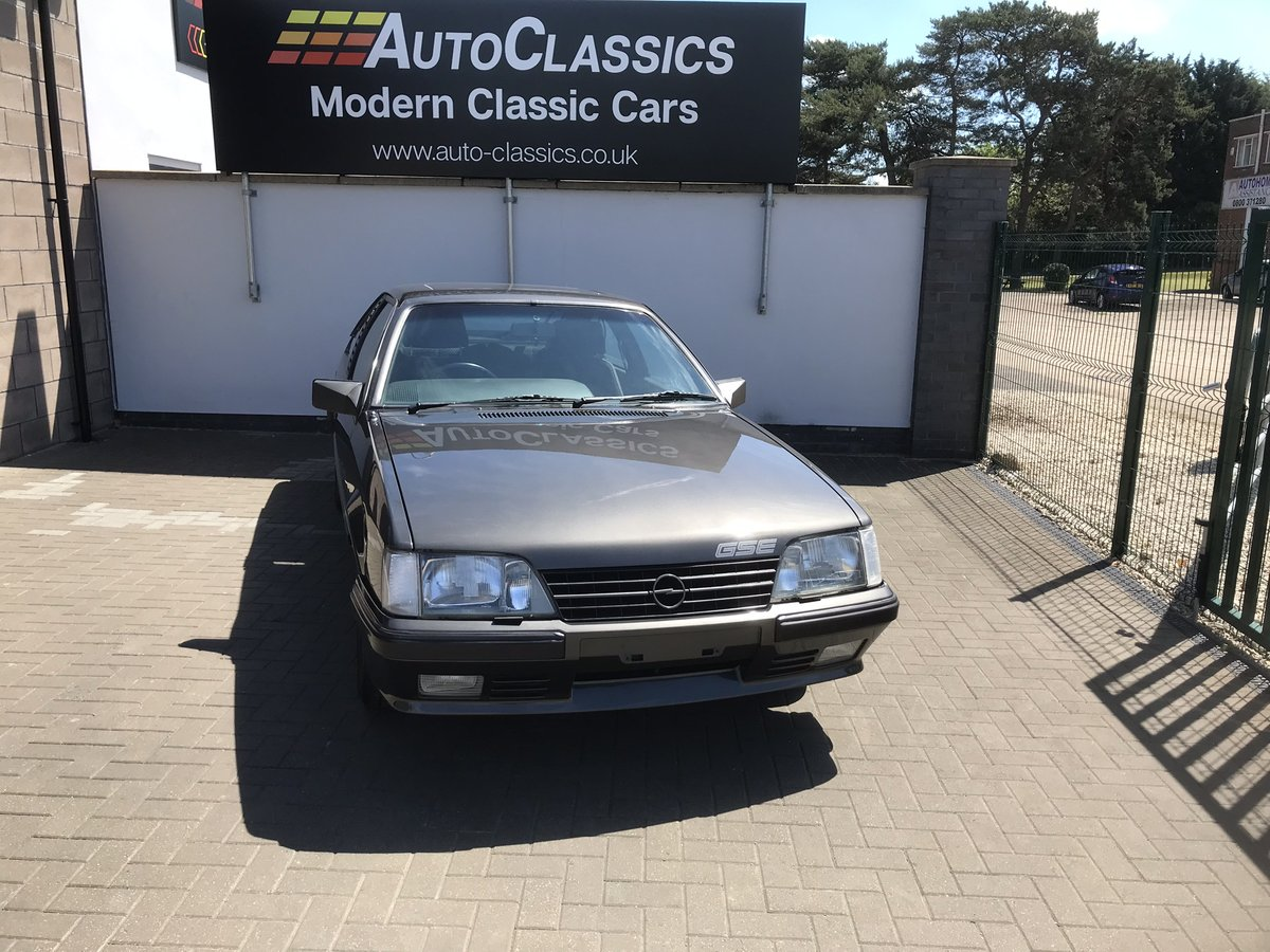 1984 Opel Monza 3.0 GSE, 40,000 Miles, 3 Owners SOLD (picture 1 of 6)
