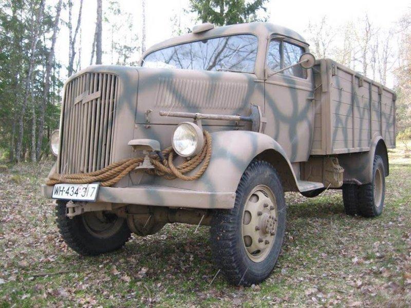 1944 Opel Blitz 3 tonner allrad, Opel Blitz, Opel  For Sale (picture 1 of 5)