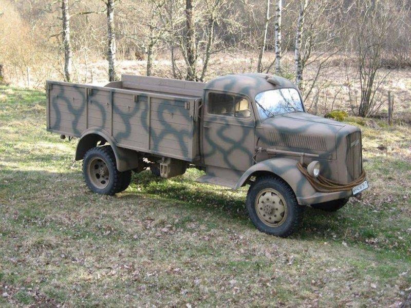 1944 Opel Blitz 3 tonner allrad, Opel Blitz, Opel  For Sale (picture 2 of 5)