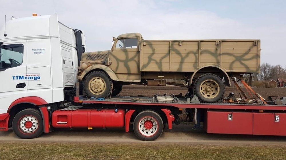 1944 Opel Blitz 3 tonner allrad, Opel Blitz, Opel  For Sale (picture 5 of 5)