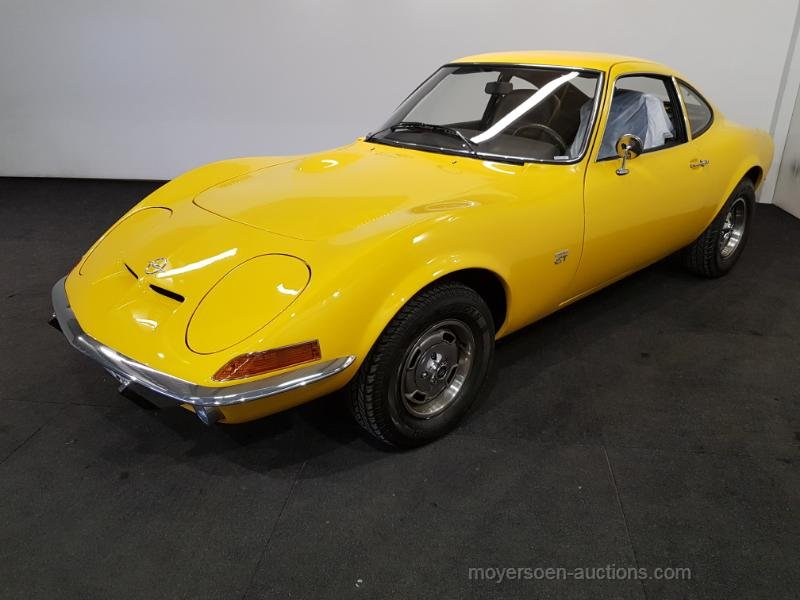 Opel GT geel 1973  For Sale by Auction (picture 1 of 6)