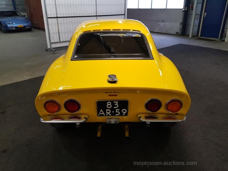 Opel GT geel 1973  For Sale by Auction (picture 3 of 6)