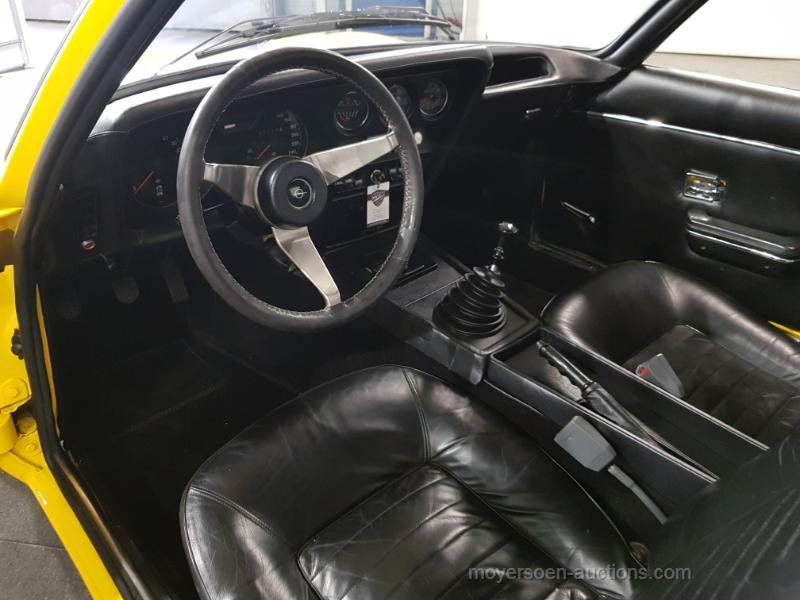 Opel GT geel 1973  For Sale by Auction (picture 4 of 6)