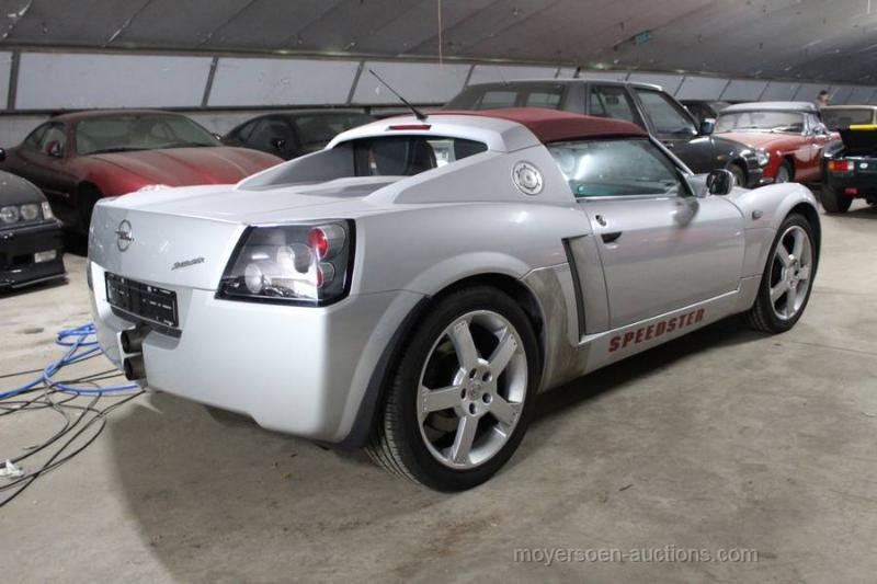 2003 OPEL Speedster  For Sale by Auction (picture 6 of 6)