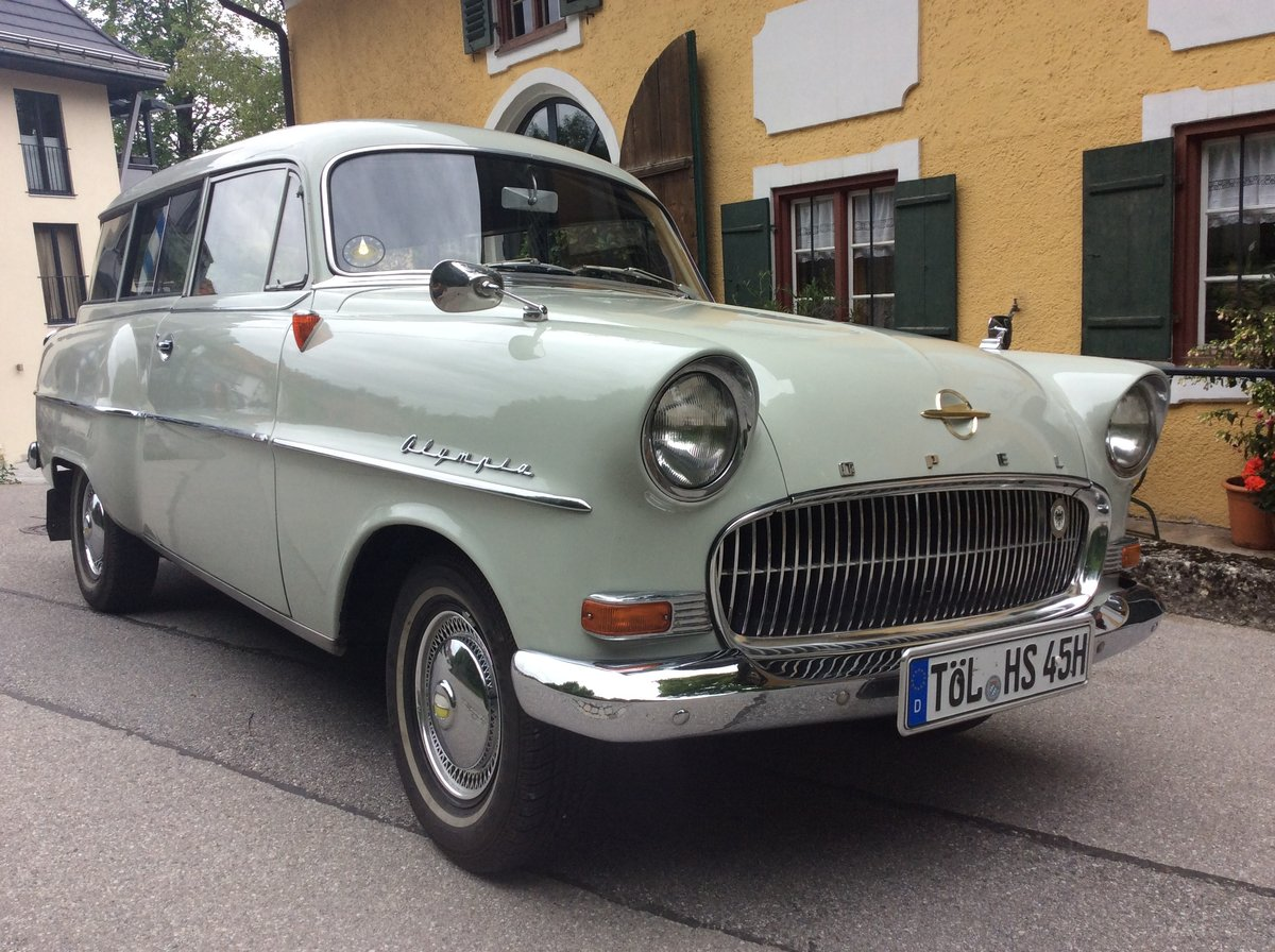 1957 Bbb Opel Olympia Rekord Caravan For Sale (picture 1 of 6)