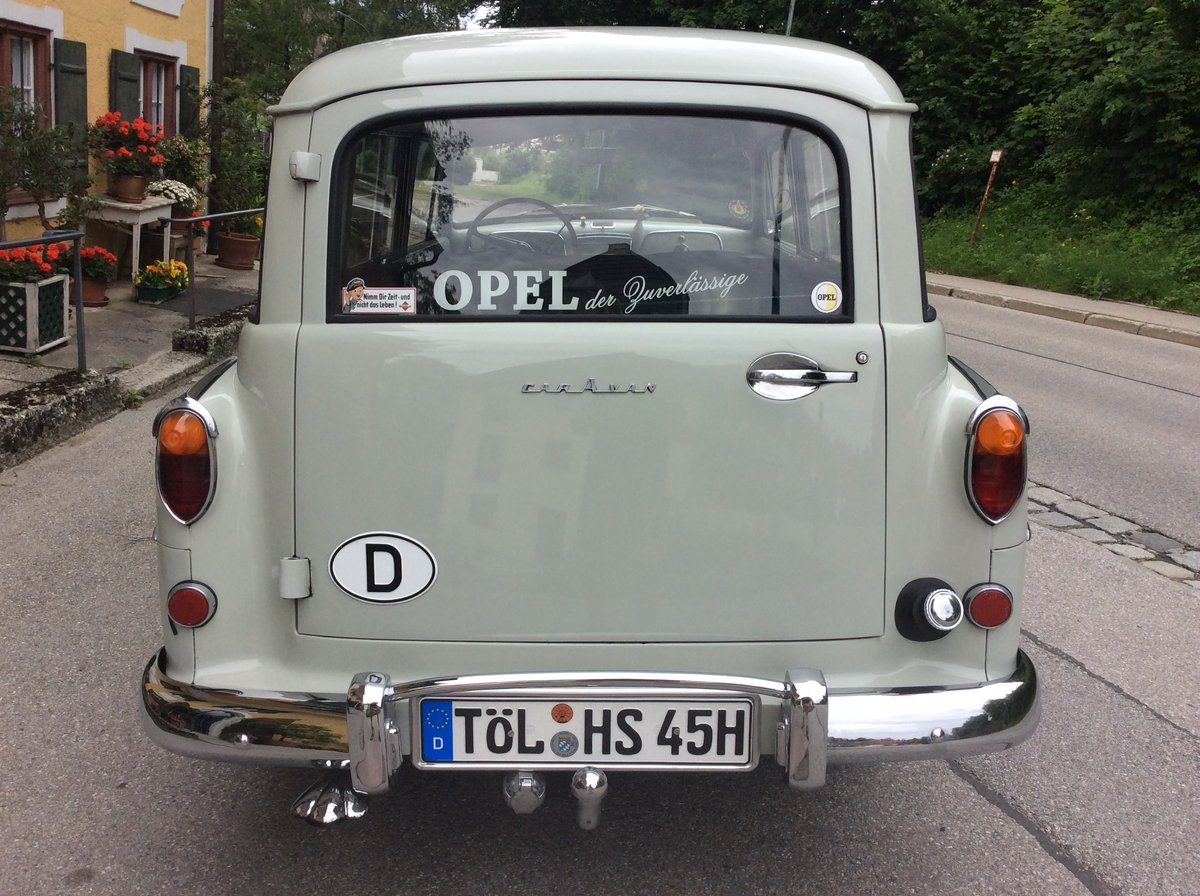 1957 Bbb Opel Olympia Rekord Caravan For Sale (picture 3 of 6)