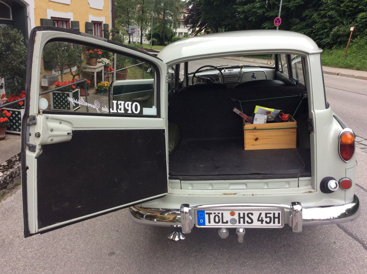 1957 Bbb Opel Olympia Rekord Caravan For Sale (picture 5 of 6)