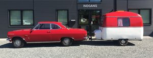 1966 Opel Rekord 2.6 Coupé with Caravan For Sale