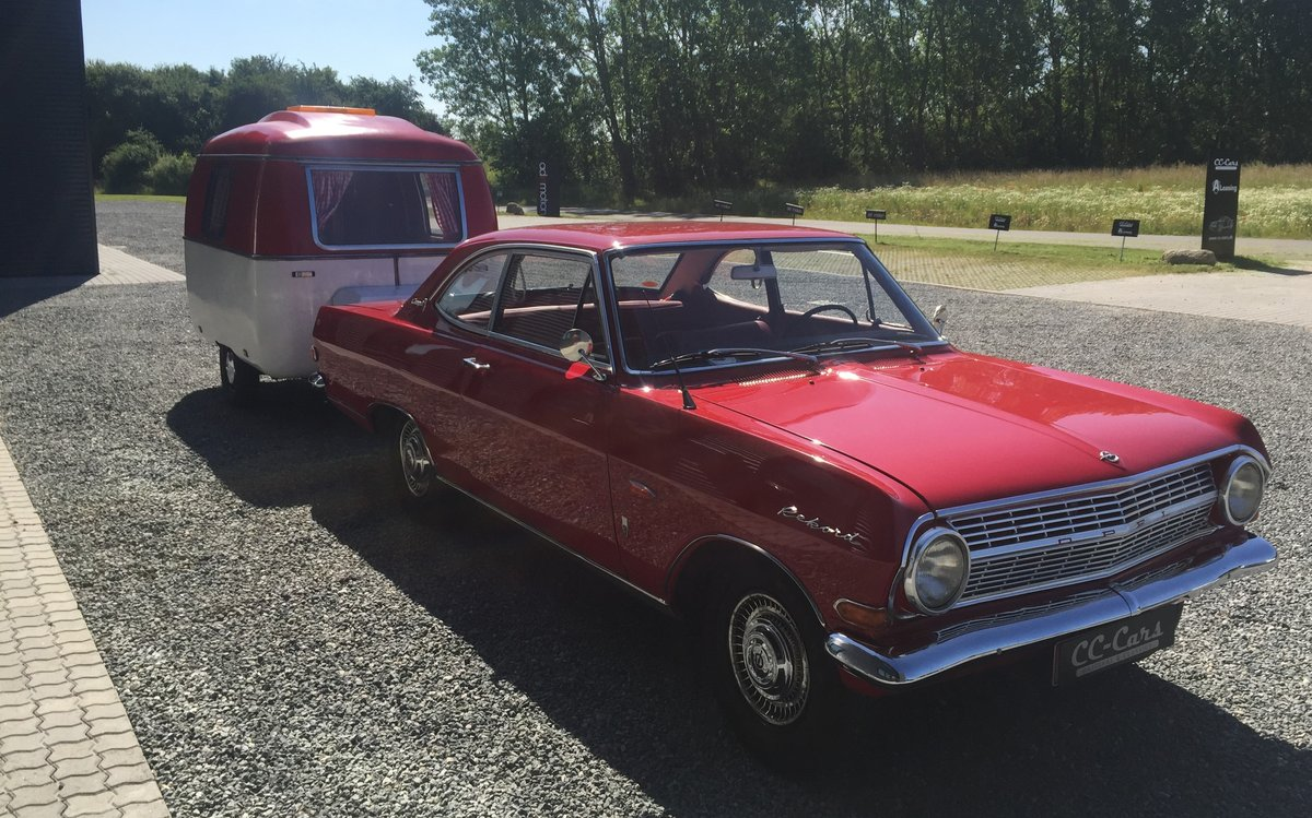 1966 Opel Rekord 2.6 Coupé with Caravan For Sale (picture 2 of 6)