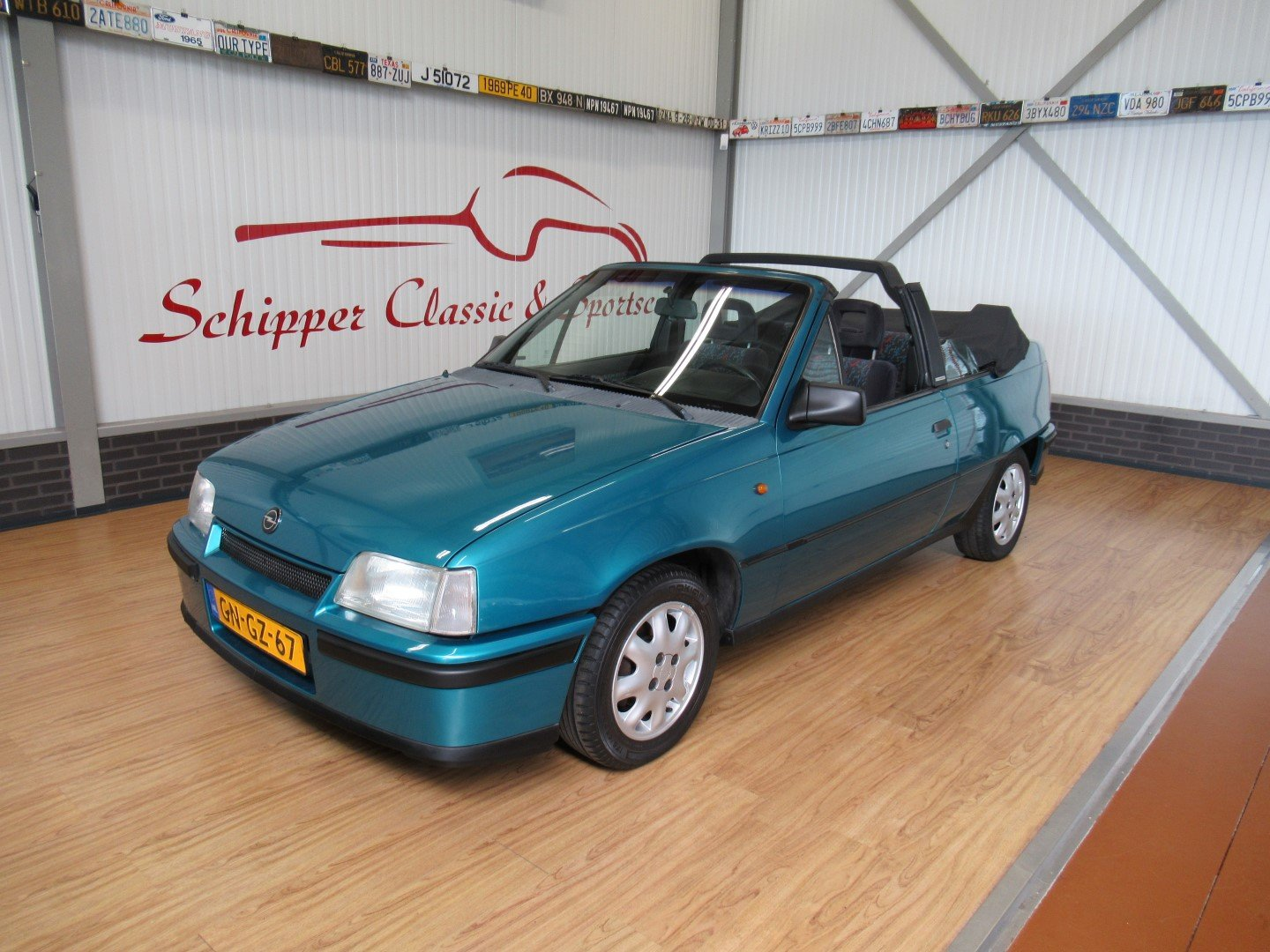 1993 Opel Kadett E Cabrio Edition 1.6i Bertone last model year For Sale (picture 1 of 6)