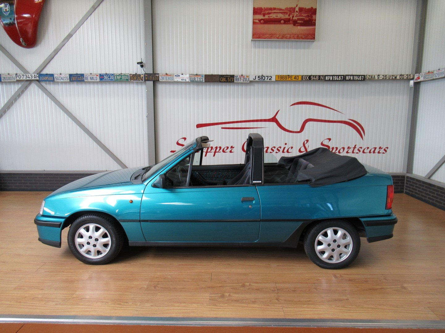 1993 Opel Kadett E Cabrio Edition 1.6i Bertone last model year For Sale (picture 2 of 6)