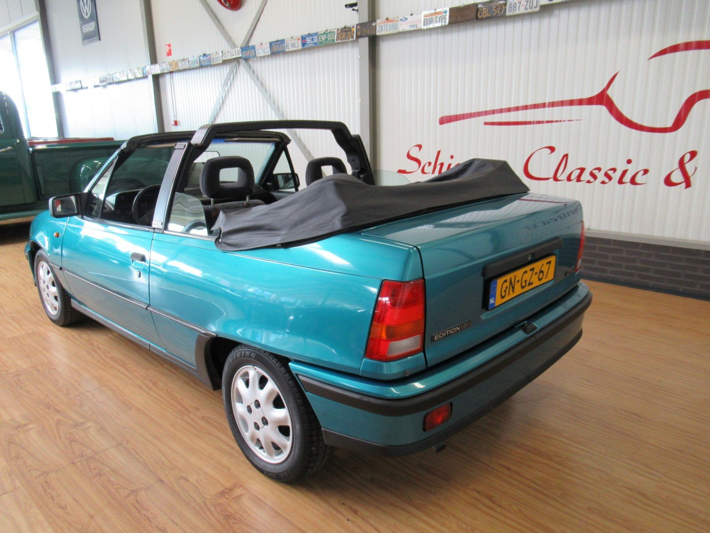 1993 Opel Kadett E Cabrio Edition 1.6i Bertone last model year For Sale (picture 3 of 6)