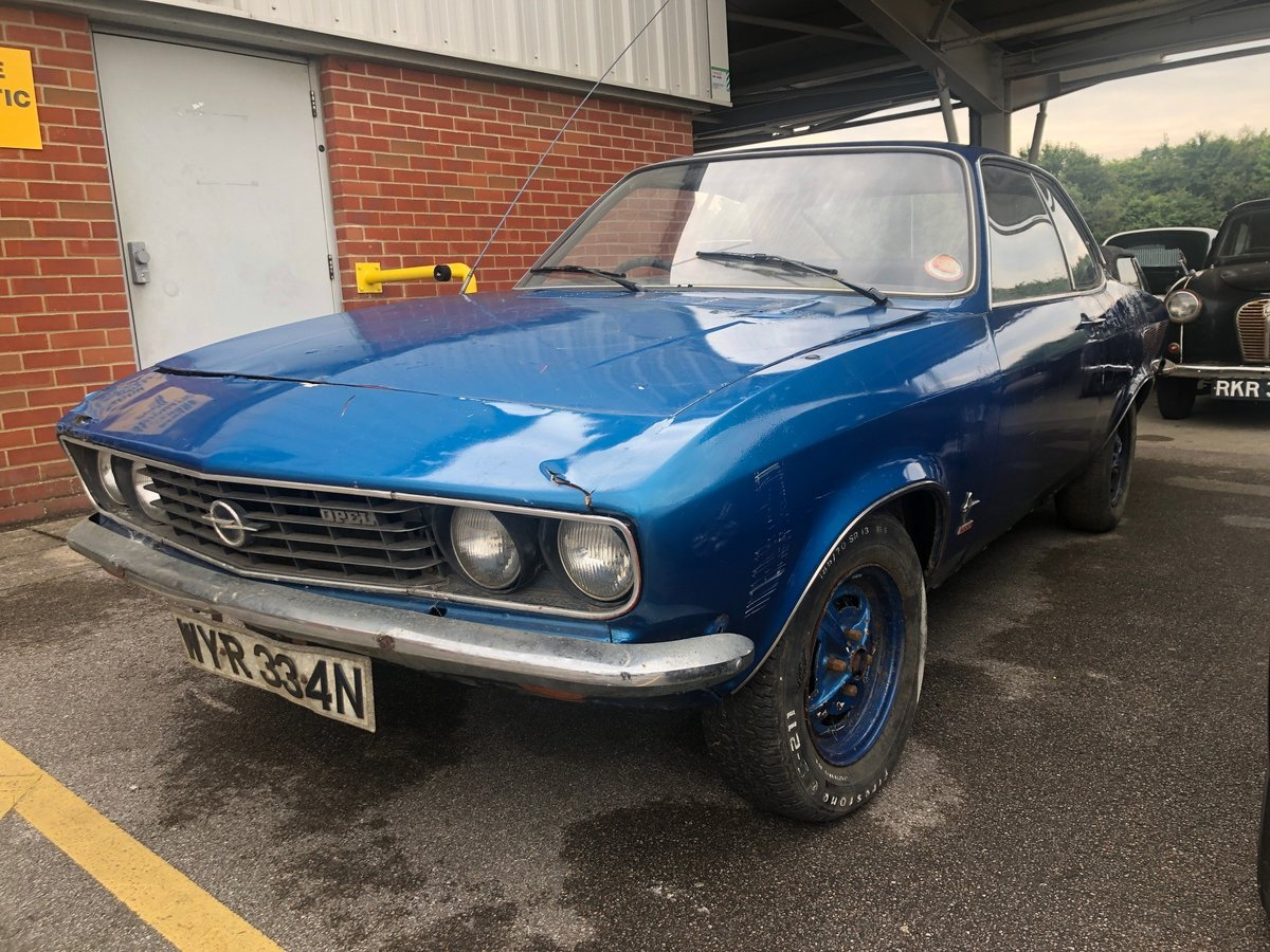 1974 Opel Manta For Sale At Eama Auction 20 7 For Sale By Auction