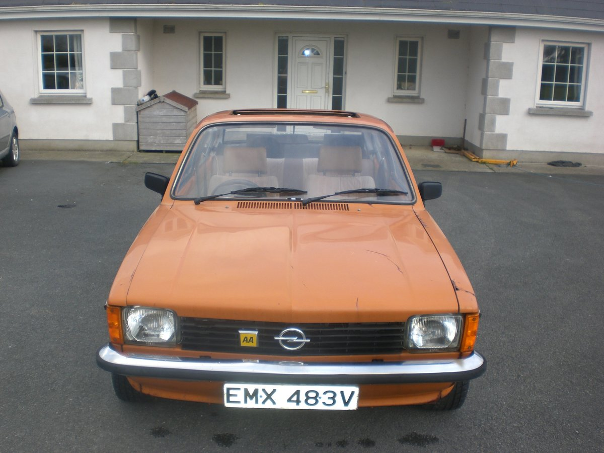Opel Kadett Coupe 2.0 16 V Red Top 1979 Project For Sale (picture 2 of 6)