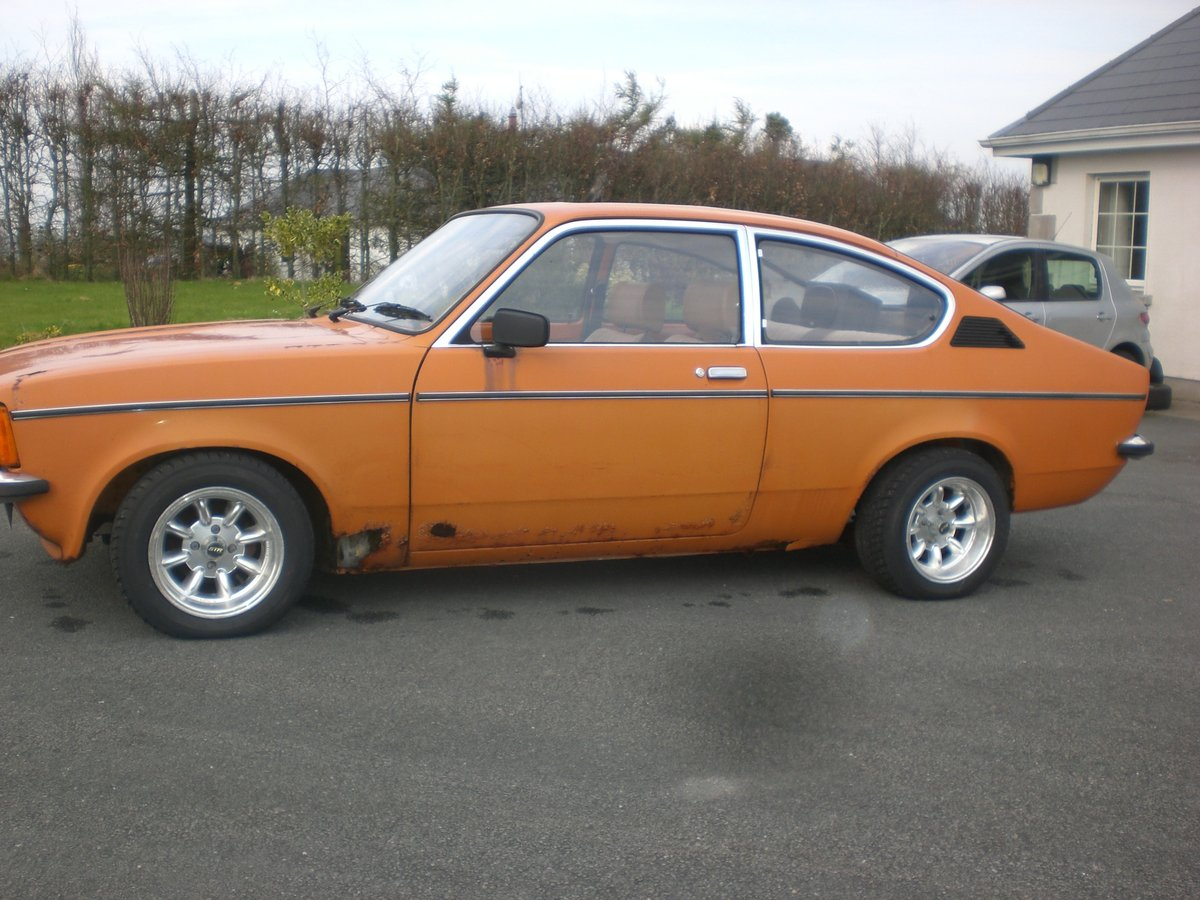 Opel Kadett Coupe 2.0 16 V Red Top 1979 Project For Sale (picture 3 of 6)
