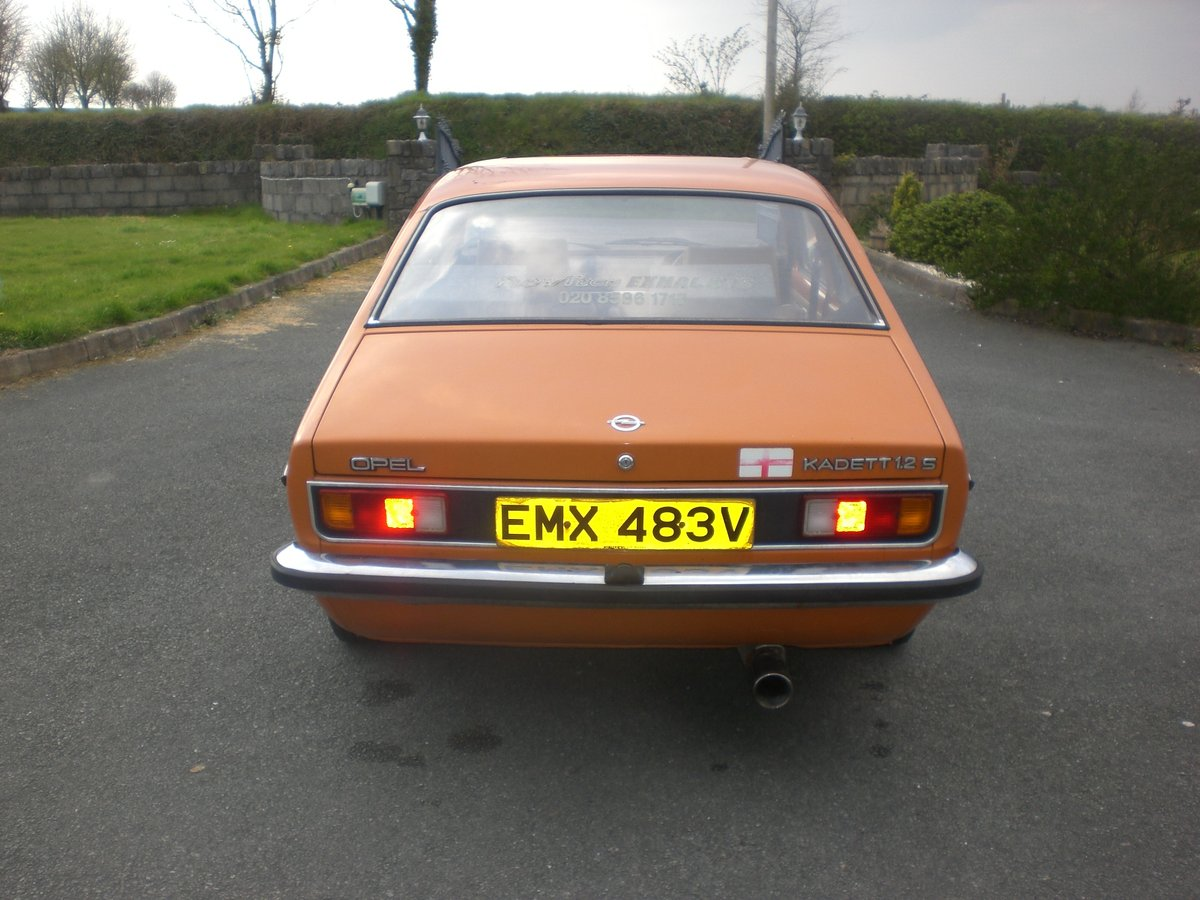 Opel Kadett Coupe 2.0 16 V Red Top 1979 Project For Sale (picture 4 of 6)
