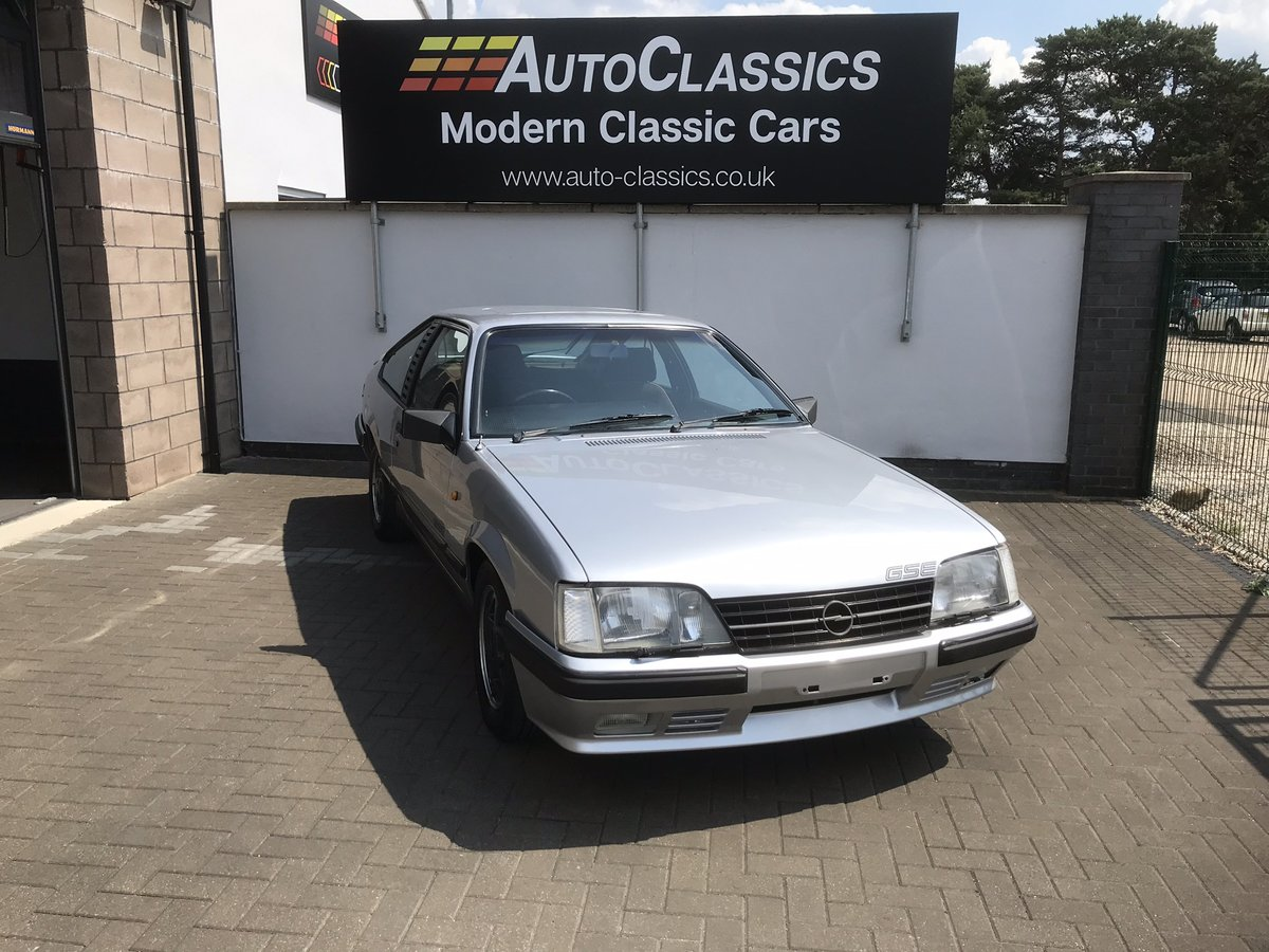 1985 Opel Monza 3.0 GSE, Rare Manual  For Sale (picture 1 of 6)