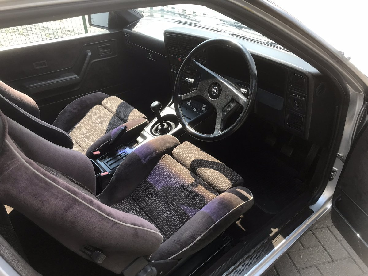 1985 Opel Monza 3.0 GSE, Rare Manual  For Sale (picture 4 of 6)