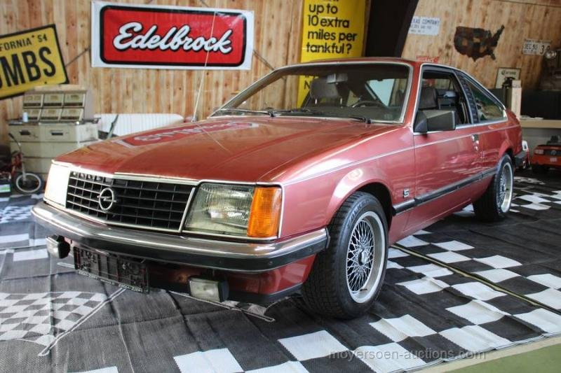 1978 OPEL Monza 3.0E For Sale by Auction (picture 1 of 6)
