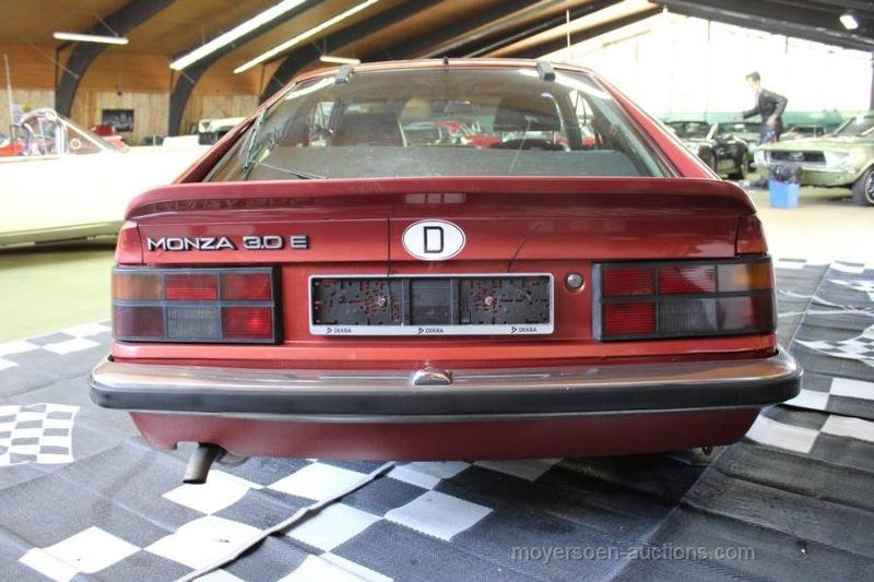 1978 OPEL Monza 3.0E For Sale by Auction (picture 4 of 6)