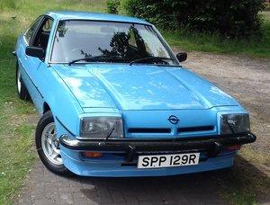1977 Opel manta b sr coupe