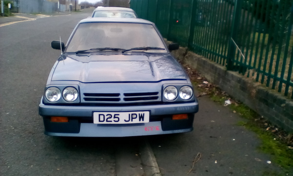 1987 Opel manta executive For Sale (picture 1 of 5)
