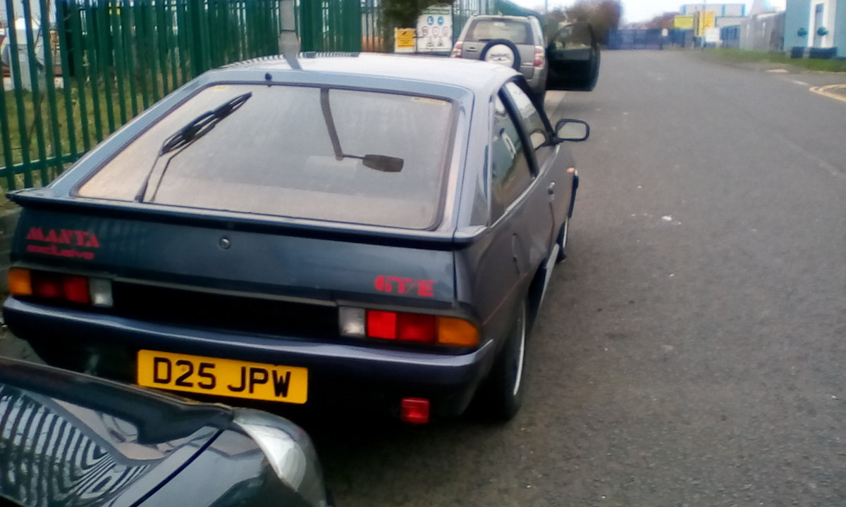 1987 Opel manta executive For Sale (picture 5 of 5)