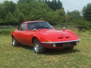 1970 Opel GT LHD at ACA 24th August  For Sale