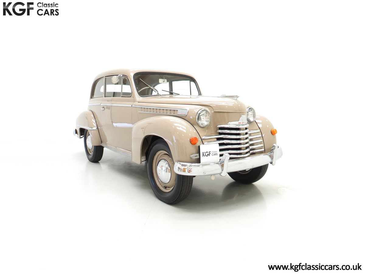 1950 A Rock and Roll and Super Rare RHD Opel Olympia SOLD (picture 1 of 6)