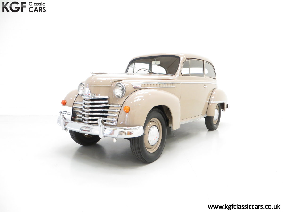 1950 A Rock and Roll and Super Rare RHD Opel Olympia SOLD (picture 2 of 6)
