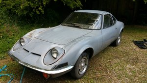 1970 Opel GT - Full Restoration Project